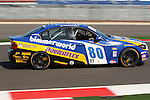 Greg Strelzoff (80) in action during the Continental Tire Challenge race at the Circuit of the Americas race track in Austin,Texas...