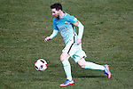 FC Barcelona's Leo Messi during Spanish Kings Cup semifinal 1st leg match. February 01,2017. (ALTERPHOTOS/Acero)