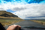 Road trip, U.S.A., America, Nevada, Reese River Valley, Lander County, Highway 305 South, Western high desert, Spring