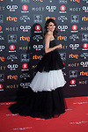 Goya Toledo attends red carpet of Goya Cinema Awards 2018 at Madrid Marriott Auditorium in Madrid , Spain. February 03, 2018. (ALTERPHOTOS/Borja B.Hojas)