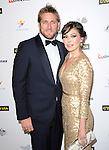 Curtis Stone and Lindsay Price attends The G'Day USA Black Tie Gala held at  JW Marriot at LA Live in Los Angeles, California on January 11,2014                                                                               © 2014 Hollywood Press Agency