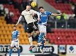 St Johnstone v Inverness Caley Thistle…03.12.16   McDiarmid Park..     SPFL<br />Iain Vigurs and Liam Craig<br />Picture by Graeme Hart.<br />Copyright Perthshire Picture Agency<br />Tel: 01738 623350  Mobile: 07990 594431
