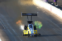 Feb 22, 2020; Chandler, AZ, USA; NHRA top fuel driver Brittany Force during qualifying for the Arizona Nationals at Wild Horse Pass Motorsports Park. Mandatory Credit: Mark J. Rebilas-USA TODAY Sports