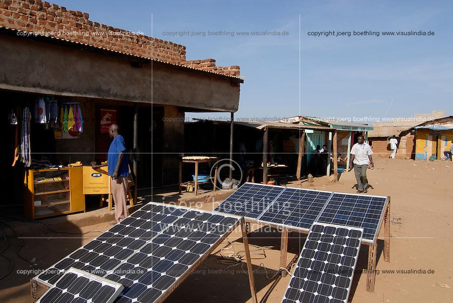 "Afrika Uganda Kotido , Solar Ladestation fuer Handy -  Energie Afrikaner afrikanisch xagndaz | .Africa Uganda Kotido , solar powered charging station for mobile phones - energy .| [ copyright (c) Joerg Boethling / agenda , Veroeffentlichung nur gegen Honorar und Belegexemplar an / publication only with royalties and copy to:  agenda PG   Rothestr. 66   Germany D-22765 Hamburg   ph. ++49 40 391 907 14   e-mail: boethling@agenda-fototext.de   www.agenda-fototext.de   Bank: Hamburger Sparkasse  BLZ 200 505 50  Kto. 1281 120 178   IBAN: DE96 2005 0550 1281 1201 78   BIC: ""HASPDEHH"" ,  WEITERE MOTIVE ZU DIESEM THEMA SIND VORHANDEN!! MORE PICTURES ON THIS SUBJECT AVAILABLE!! ] [#0,26,121#]"