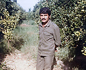 Lebanon1980 .Near Sur, Azad Sagerma, peshmerga of PUK.<br /> Liban 1980.A cote de Sur, Azad Sagerma, peshmerga de l'UPK