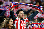 Atletico de Madrid's supporters during Champions League 2014/2015 match.March 16,2015. (ALTERPHOTOS/Acero)