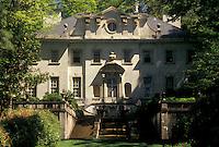 mansion, plantation, Atlanta, Georgia, GA, Swan House at the Atlanta History Center in Atlanta.