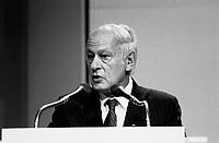 FILE PHOTO : Hommage a Rene Levesque, le 27 septembre 1985<br /> <br /> PHOTO : Denis Alix -  Agence Quebec Presse