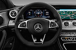 Car pictures of steering wheel view of a 2016 Mercedes Benz E-Klasse Sportline 4 Door Sedan Steering Wheel