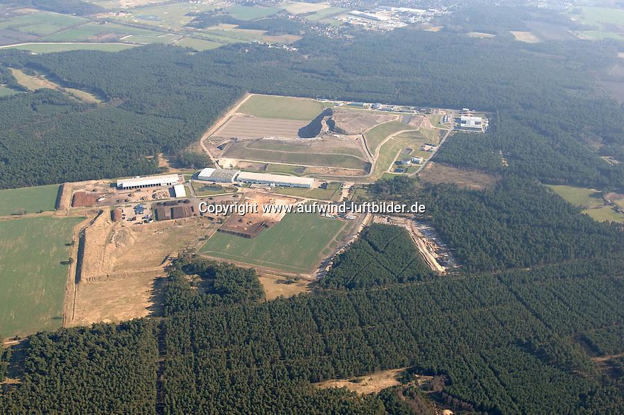 Deutschland, Niedersachsen, Lueneburg, Muell, Entsorgung, Entsorgungszentrum