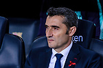 Ernesto Valverde FC Barcelona Head Coach during the La Liga 2018-19 match between FC Barcelona and Villarreal at Camp Nou on 02 December 2018 in Barcelona, Spain. Photo by Vicens Gimenez / Power Sport Images