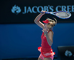 Maria Sharapova (RUS) defeats Ekaterina Makanrova (RUS) 6-3, 6-2 at the Australian Open being played at Melbourne Park in Melbourne, Australia on January 29, 2015