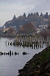Astoria, waterfront, Columbia River, North America, Oregon State, Pacific Northwest, rivers, United States, Oregon Coast,