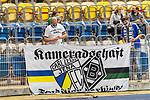 12.09.2020, Ernst-Abbe-Sportfeld, Jena, GER, DFB-Pokal, 1. Runde, FC Carl Zeiss Jena vs SV Werder Bremen<br /> <br /> <br /> HAUPTTRIBUENE warmitt ueber 1000 Besuchern gem Corona auflagen besetzt<br /> <br /> <br /> <br /> <br /> Foto © nordphoto / Kokenge