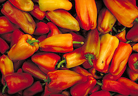 A pile of peppers.