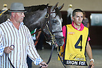 September 19, 2015. Iron Fist, a son of Tapit trained by Jerry Hollandorfer, is one of nine contenders in the $1,000,000 Grade II Pennsylvania Derby, one and 1/8th miles for three-year-olds, at  Parx Racing in Bensalem, PA. (Joan Fairman Kanes/ESW/CSM)