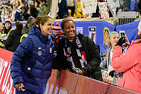 HARRISON, NJ - MARCH 08: Carli Lloyd #10 of the United States poses for a photo during a game between Spain and USWNT at Red Bull Arena on March 08, 2020 in Harrison, New Jersey.