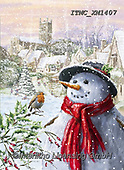 Marcello, CHRISTMAS SANTA, SNOWMAN, WEIHNACHTSMÄNNER, SCHNEEMÄNNER, PAPÁ NOEL, MUÑECOS DE NIEVE, paintings+++++,ITMCXM1407,#x#
