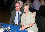 St Johnstone FC Hall of Fame Dinner, Perth Concert Hall….03.04.16<br />Hall of Fame Inductee John Connolly pictured with his wife<br />Picture by Graeme Hart.<br />Copyright Perthshire Picture Agency<br />Tel: 01738 623350  Mobile: 07990 594431