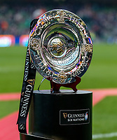 Saturday 1st February 2020 | Ireland vs Scotland<br /> <br /> The Triple Crown Trophy during the 2020 6 Nations Championship   clash between Ireland and Scotland at he Aviva Stadium, Lansdowne Road, Dublin, Ireland. Photo by John Dickson / DICKSONDIGITAL