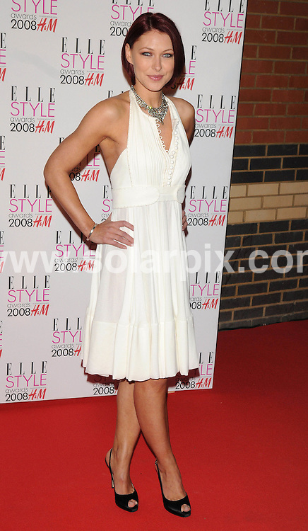 **ALL ROUND PICTURES FROM SOLARPIX.COM**.**WORLDWIDE SYNDICATION RIGHTS**.Celebrities arrive for the Elle Style Awards at The Roundhouse, London. 12th February 2008..This pic: Emma Griffiths..JOB REF: 5777 ATM     DATE: 12_02_2008.**MUST CREDIT SOLARPIX.COM OR DOUBLE FEE WILL BE CHARGED* *UNDER NO CIRCUMSTANCES IS THIS IMAGE TO BE REPRODUCED FOR ANY ONLINE EDITION WITHOUT PRIOR PERMISSION*
