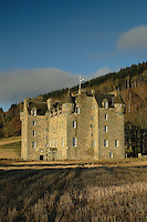 Castle Menzies near Weem and Aberfeldy, Perthshire<br /> <br /> Copyright www.scottishhorizons.co.uk/Keith Fergus 2011 All Rights Reserved