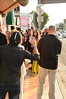 Celebrity Sightings outside the Nuart Theatre in Los Angeles