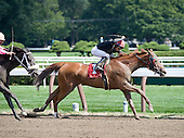 Before she defeated Rachel Alexandra in the Personal Ensign, Persistently wins an allowance race.