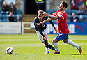 Dundee's Martin Boyle tries to get away from Cowdenbeath's Rory McKeown.