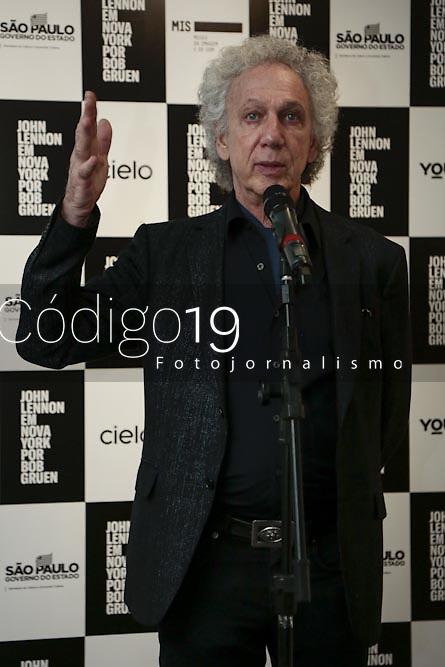 Sao Paulo (SP), 12/03/2020 - Bob Gruen - O fotografo Bob Gruen esteve no MIS para atendimento a imprensa na manha desta quinta-feira (12). Entre os dias 13 de marco e 7 de junho, pela primeira vez no pais, a exposicao John Lennon em Nova York por Bob Gruen , fica em cartaz no Museu da Imagem e do Som - MIS, na Avenida Europa, zona sul da capital. O MIS funciona de terca a sabado, e a entrada e gratuita as tercas e para criancas ate cinco anos. No dia 14/03, as 14h, acontece bate-papo com o fotografo, com entrada gratuita. (Foto: Ale Frata/Codigo 19/Codigo 19)