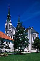 Slowenien. Ljubljana, Trnovo-Kirche