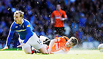 2ND APR 2011, RANGERS V DUNDEE UNITED, IBROX STADIUM, GLASGOW, STEVEN NAISMITH AND PAUL DIXON, ROB CASEY PHOTOGRAPHY.