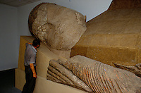The Last Buddha of Central Asia..Tajikistans new treasure is the Museum of National Antiquities which was inaugurated especially for the celebrations of ten year independence in September 2001. Inside the museum in Dushambe, is Central Asias largest and arguably most important Buddhist heritage. A fourteen-metre statue of a sleeping Buddha that is portrayed just moments before reaching Nirvana.
