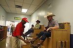 April 12, 2014: Scenes the morning of the Arkansas Derby at Oaklawn Park in Hot Springs, AR. Justin Manning/ESW/CSM