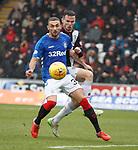 03.11.2018: St Mirren v Rangers: Eros Grezda and Paul McGinn
