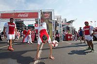 Photo before the match United States vs Paraguay, Corresponding to  Group -A- of the America Cup Centenary 2016 at Lincoln Financial Field Stadium.<br /> <br /> Foto previo al partido Estados Unidos vs Paraguay, Correspondiente al Grupo -A- de la Copa America Centenario 2016 en el Estadio Lincoln Financial Field , en la foto: Sponsors Coca Cola<br /> <br /> <br /> 11/06/2016/MEXSPORT/Osvaldo Aguilar.