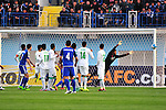 NASAF QARSHI (UZB) vs AL-AHLI (KSA) during their AFC Champions League Group D match on 02 March 2016 held at the Karshi Central Stadium in Karshi, Uzbekistan. Photo by Stringer / Lagardere Sports