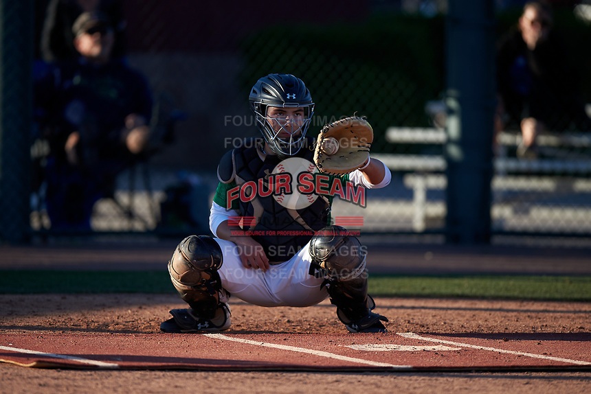 Maxton Peck during the Under Armour All-America Tournament powered by Baseball Factory on January 19, 2020 at Sloan Park in Mesa, Arizona.  (Zachary Lucy/Four Seam Images)
