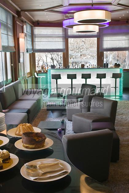 Europe/France/Rhone-Alpes/74/Haute-Savoie/ Chamonix: Bar  du  Restaurant  Albert 1er