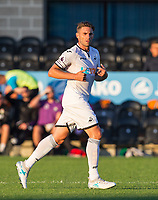 Angel Rangel of Swansea City during the 2017/18 Pre Season Friendly match between Barnet and Swansea City at The Hive, London, England on 12 July 2017. Photo by Andy Rowland.