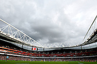 General View of The Emirates Stadium. - Arsenal vs Everton - Barclays Premier League Football at the Emirates Stadium, London - 16/10/08 - MANDATORY CREDIT: Joseph Toth/TGSPHOTO - Self billing applies where appropriate - 0845 094 6026 - contact@tgsphoto.co.uk - NO UNPAID USE.