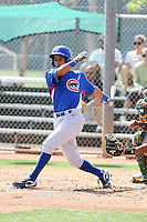 Manuel Pestana, Chicago Cubs 2010 extended spring training..Photo by:  Bill Mitchell/Four Seam Images.