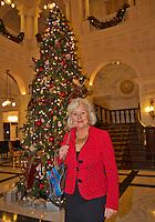 December 08, 2014, Amsterdam, Amstel Hotel, Tennisser off the Year Awards, Janneke Hooijer.<br /> Photo: Henk Koster