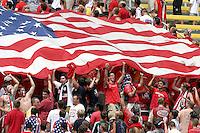 USA fans, USMNT vs Paraguay, July, 6, 2003, Columbus, Ohio.