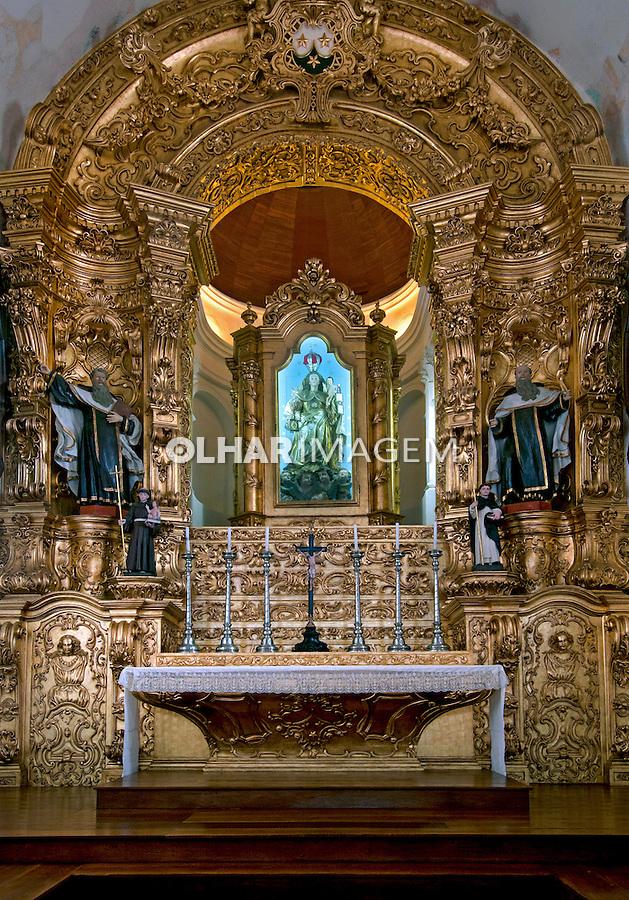 Altar da Igreja do Carmo em Olinda. Pernambuco. 2013. Foto de Joao Urban.