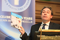 """**** NO FEE PIC***.12/04/2012 .ICCL Director Mark Kelly.during a conference on the """"The EU Directive on Victims Rights: Opportunities and Challenges for Ireland"""" hosted by the the Irish Council for Civil Liberties (ICCL) in Dublin Castle..Photo: Gareth Chaney Collins"""