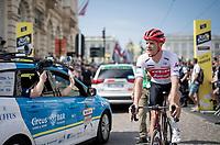 Jasper Stuyven (BEL/Trek-Segafredo) at the start in Brussels<br /> <br /> Stage 1: Brussels to Brussels(BEL/192km) 106th Tour de France 2019 (2.UWT)<br /> <br /> ©kramon