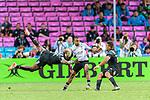 Fiji vs New Zealand during their Pool A match as part of the HSBC Hong Kong Sevens 2018 on April 7, 2018 in Hong Kong, Hong Kong. Photo by Marcio Rodrigo Machado / Power Sport Images