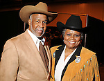 Alex Prince and Bettye Bruno at the 17th Annual Black Heritage Western Gala at the Reliant Center Saturday Jan. 30,2010.(Dave Rossman Photo)