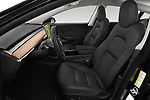 Front seat view of a 2019 Tesla Model-3 Performance 4 Door Sedan front seat car photos